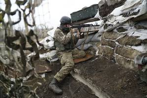 one soldier killed, several wounded in eastern ukraine, govt. claims