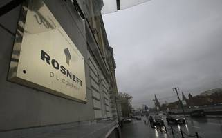 u.s. sanctions rosneft unit for ties to venezuela oil production