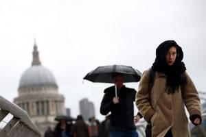 storm dennis hits uk, aftermath devastating to public