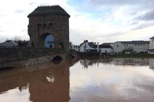 people in monmouth told to cut water use due to limited supply after flooding