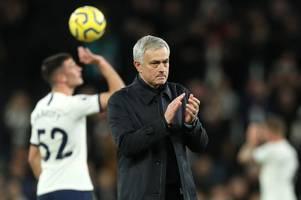 jose mourinho makes troy parrott statement after son heung-min injury blow rocks tottenham