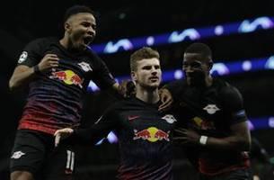 Leipzig beats Tottenham 1-0 in Champions League first leg