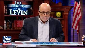 mark levin goes on nuts tear against bernie sanders, calls him an anti-semite with an 'islamo-nazi mentality'