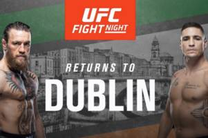 conor mcgregor teased ufc dublin homecoming fight - but 'then deleted his retweet'