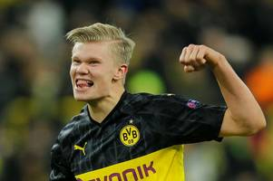 erling haaland 'told man utd he wanted to join' club in december before dortmund transfer