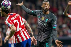 liverpool's masterful premier league run blamed for tame atletico madrid loss