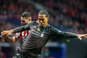 virgil van dijk accuses atletico madrid of dubious tactics in win over liverpool