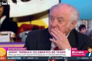 comedian jimmy tarbuck reveals prostrate cancer diagnosis - but plans to 'beat it'