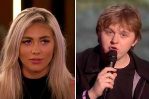 lewis capaldi takes aim at ex paige turley during brit awards speech