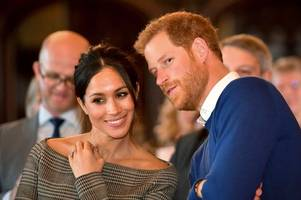 meghan markle and prince harry 'banned from using sussex royal brand'