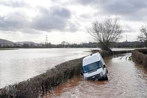 month's worth of rain forecast to hit uk over next 24 hours - days after storm dennis wreaked havoc