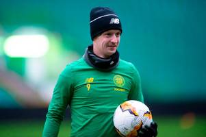 leigh griffiths blow for celtic as neil lennon provides injury update ahead of copenhagen clash
