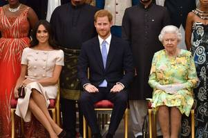 Maghan Markle and Prince Harry name date when they officially cut ties with Queen