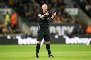 mike dean explains his infamous 'celebration' after tottenham goal vs aston villa