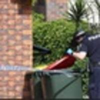 car fire deaths: police search for clues at former warrior rowan baxter's family home