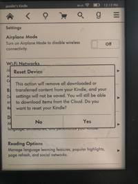how to reset your kindle paperwhite to its factory settings in 5 simple steps