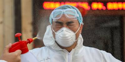 a shipping titan, a global airline, and apple's main iphone supplier just sounded the alarm on coronavirus