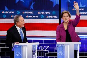 Welcome To The Party, Mike: Bloomberg Hammered By Warren, Other Candidates In Billionaire's First Democratic Primary Debate