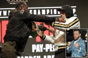 conor mcgregor's role in deontay wilder vs tyson fury rematch emerges as ufc legend sends message