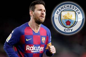 Lionel Messi claims Man City will be screwed if Champions League ban is enforced