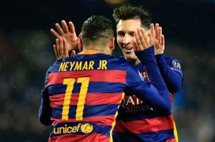 neymar 'looking forward to coming back' to barcelona, says lionel messi