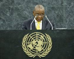 lesotho's thabane to quit as police charge him for murder