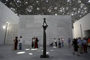 louvre abu dhabi to premiere show destined for 2024 paris olympics
