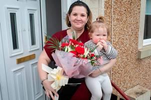 Deserving auntie Lesley is this weeks Say It With Flowers winner