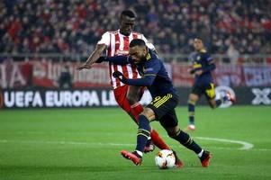 arsenal fans slam alexandre lacazette's performance vs olympiacos despite winning goal