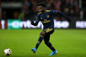 bukayo saka has found his perfect position for now for arsenal and gareth southgate must notice