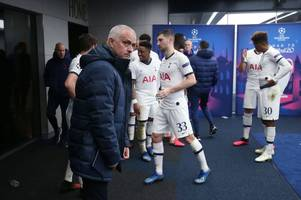 jose mourinho's message to his tottenham squad after rb leipzig champions league defeat