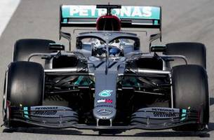 mercedes dominant again in formula one preseason testing