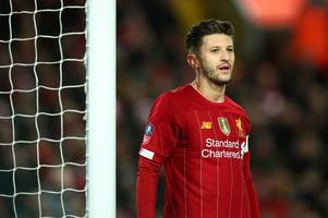 Arsenal and Tottenham in transfer battle over Liverpool star Adam Lallana