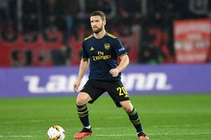 Arsenal fans call Shkodran Mustafi 'better than Virgil van Dijk' after form upturn