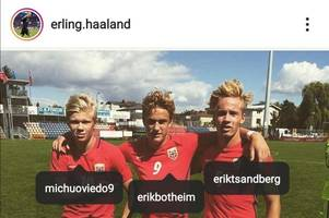 Erling Haaland's Premier League idol emerges in Instagram tagging as former Swansea star Michu