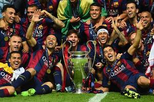 lionel messi names four teams who can challenge barcelona for champions league glory