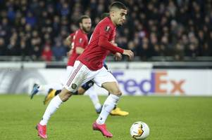 man utd ace andreas pereira told he will 'only be a squad player' at the club
