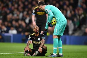 man city hit with triple injury blow ahead of leicester clash