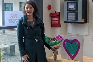extinction rebellion's valentine's day surprise for devon district councillor