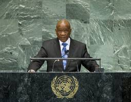 lesotho pm thabane has gone to south africa to see a doctor: son