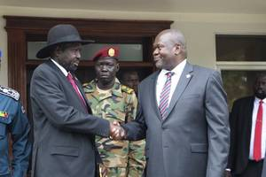 south sudan rebel leader to be appointed vice president