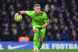 martin keown delivers verdict on mikel arteta's bernd leno decision after olympiacos clean sheet