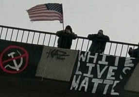 White supremacists work together, united by hatred of Jews, immigrants