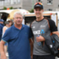 cricket: black caps dad's last-minute rush to see son kyle jamieson's test debut against india