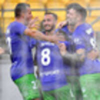 football: wellington phoenix make big step towards a-league playoffs with win over western united