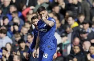 Giroud, Alonso score as Chelsea beats Tottenham 2-1 in EPL