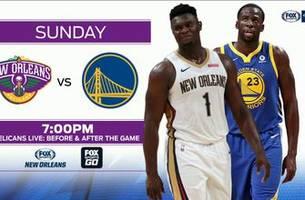 LOOK AHEAD: Pelicans at Warriors   Pelicans Live