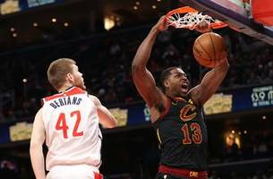 Tristan Thompson, Collin Sexton help Cleveland Cavaliers rally for 113-110 win over Washington Wizards