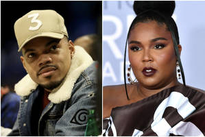 chance the rapper shares old clip of lizzo interviewing him in 2012 (video)