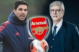mikel arteta set arsenal points target for rest of season by arsene wenger